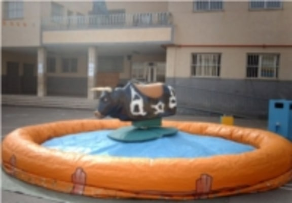 toro mecanico para fiestas en colegios de Alicante