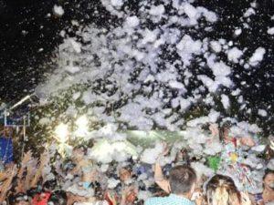 Alquiler Fiesta de la Espuma en BURJASOT