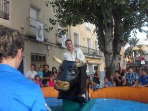 Alquiler Toro Mecánico en FONTANARS DELS ALFORINS